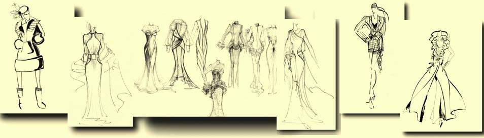 Как Рисовать Эскизы Одежды